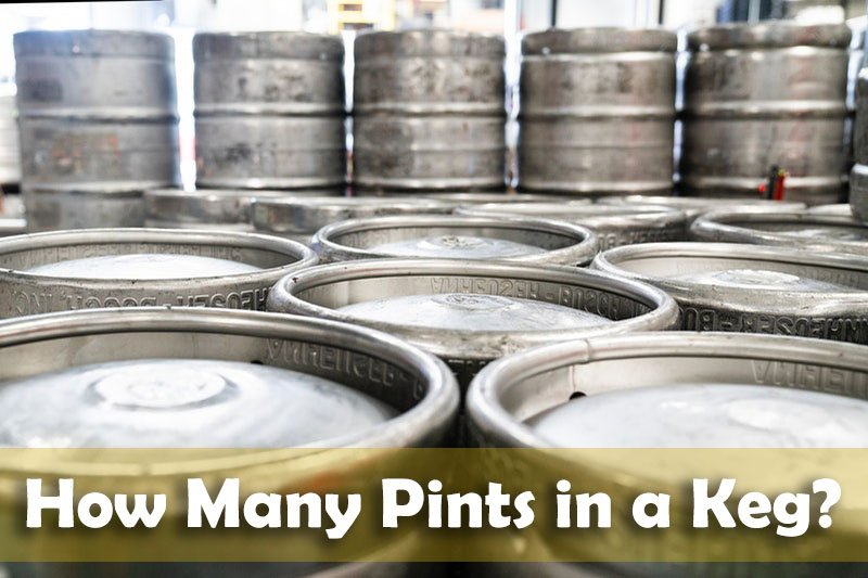 How Many Pints in a Keg